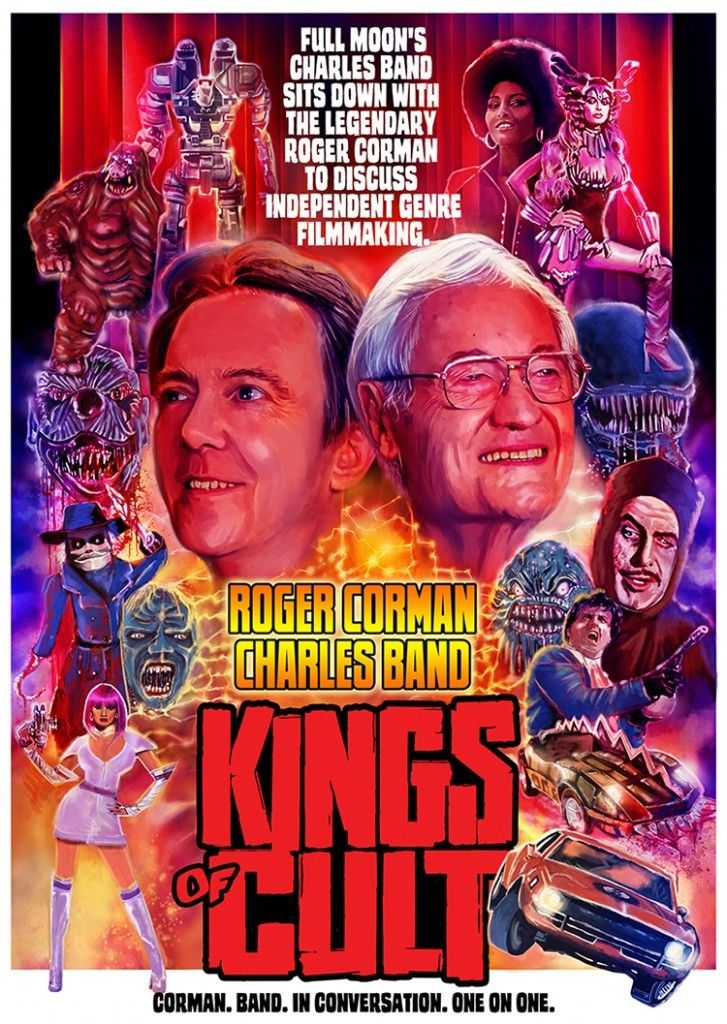 Kings of Cult (Roger Corman, Charles Band)